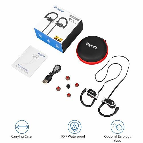 Auriculares Bluetooth, Bagotte In-Ear