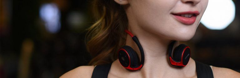 KAMTRON Auriculares Bluetooth 4.2 Running